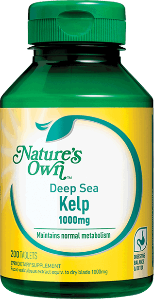 Deep Sea Kelp 1000mg from » Nature's Own