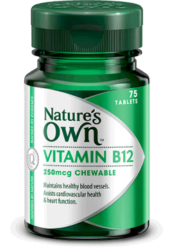 Vitamin B12 250mcg Chewables
