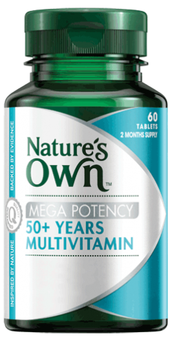 Mega Potency 50+ Years Multivitamin