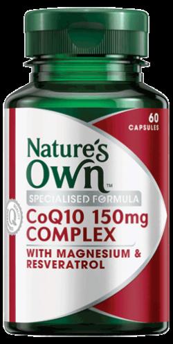 CoQ10 150mg Complex Capsules