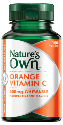 Vitamin C, chewable 500mg