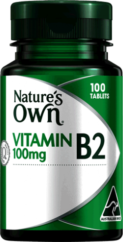 Vitamin B2 100mg Tablets