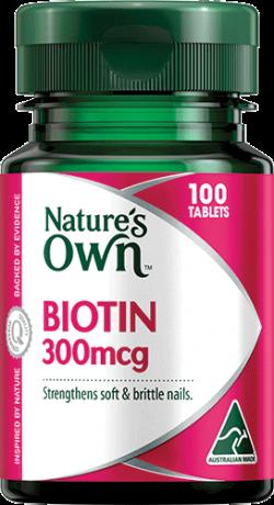 Biotin 300mcg Tablets