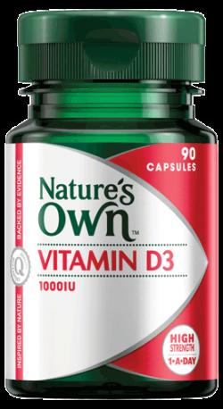 Vitamin D3 1000IU Capsules