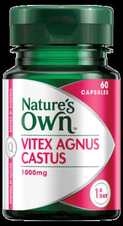 Vitex Agnus Castus 1000mg Capsules
