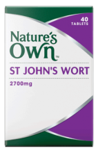 St. John's Wort 2700mg Tablets