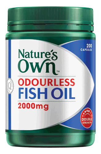 Odourless Fish Oil 2000mg