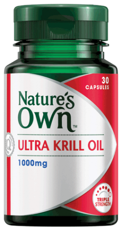Ultra Krill Oil 1,000mg Capsules