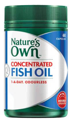 Concentrated Fish Oil Capsules