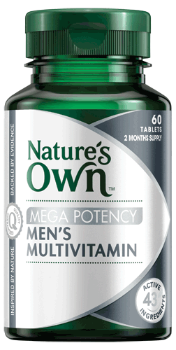 Mega Potency Men's Multivitamin