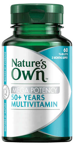 Mega Potency 50 plus Years Multivitamin