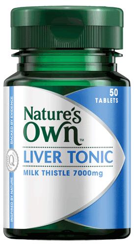 Liver Tonic, Milk Thistle 7000mg