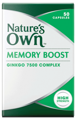 Memory Boost Ginkgo 7500 Complex Tablets