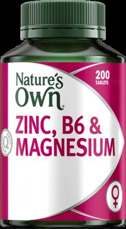 Nature's Own Zinc, B6 & Magnesium