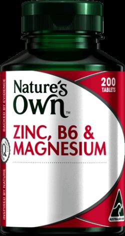 Zinc, B6 & Magnesium Tablets