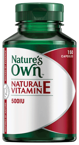Natural Vitamin E 500IU