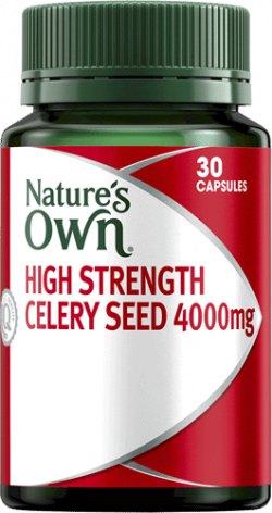 Nature's Own High Strength Celery Seed 4000mg