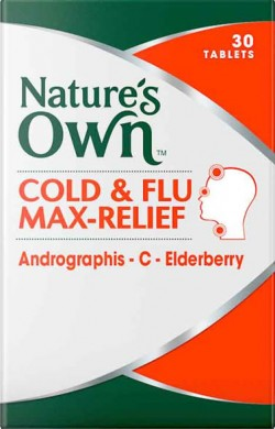 Cold & Flu Max-Relief Tablets