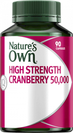 Nature's Own High Strength Cranberry 50,000