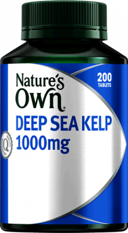 Nature's Own Deep Sea Kelp 1000mg