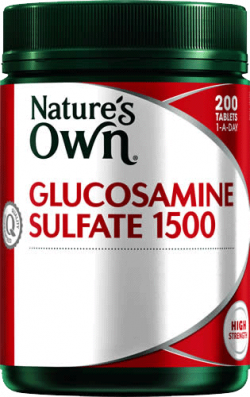 Glucosamine Sulfate 1500 Tablets