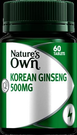 Nature's Own Korean Ginseng 500mg
