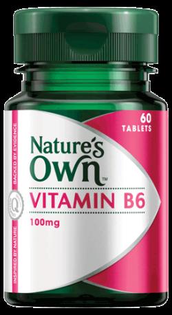Vitamin B6 100mg Tablets