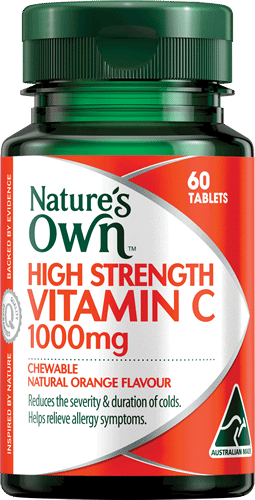 High Strength Vitamin C 1000mg