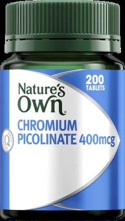 Nature's Own Chromium Picolinate 400mcg