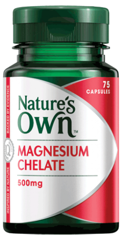 Nature's Own Magnesium Chelate 500mg