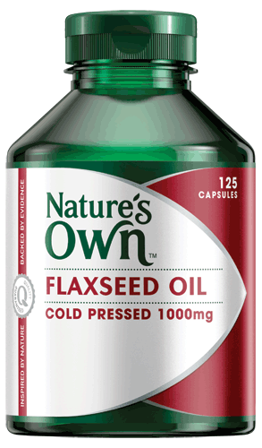 Flaxseed Oil Cold Pressed 1000mg