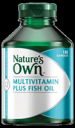 Multivitamins Plus Fish Oil Capsules