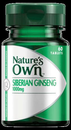 Siberian Ginseng 1000mg