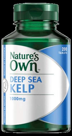 Deep Sea Kelp 1000mg Tablets