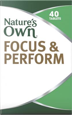 Nature's Own Focus & Perform