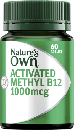 Nature's Own Activated Methyl B12 1000mcg