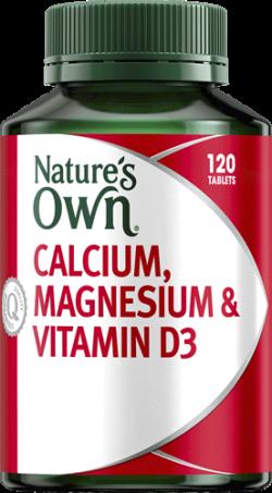 Nature's Own Calcium, Magnesium & Vitamin D3