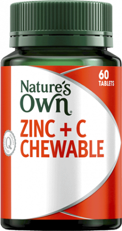 Nature's Own Zinc + C Chewable