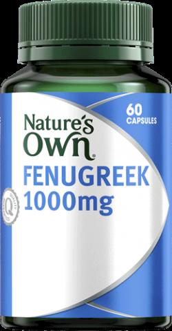 Nature's Own Fenugreek 1000mg