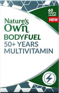 Nature's Own Bodyfuel 50+ Years Multivitamin
