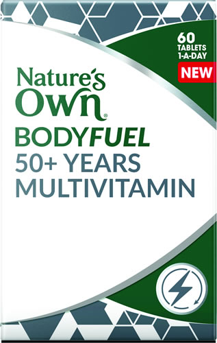 Bodyfuel 50+ Years Multivitamin