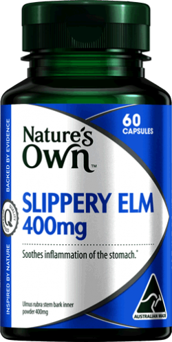 Slippery Elm 400mg Capsules
