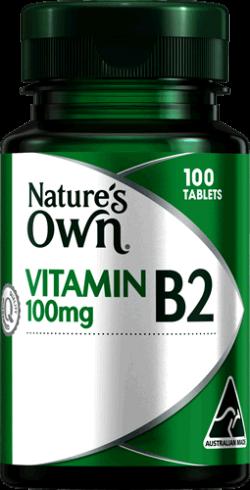 Vitamin B2 100mg Tablets