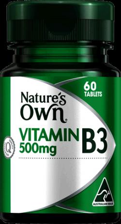Vitamin B3 500mg Tablets