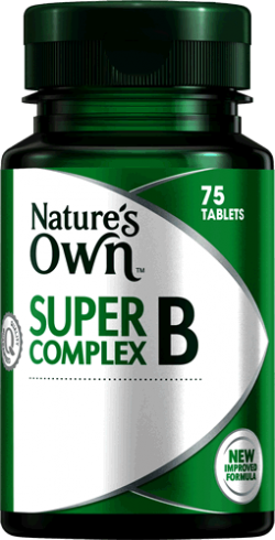 Super B Complex Tablets For Everyday Energy