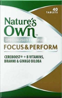 Focus & Perform Tablets
