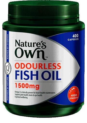 Nature's Own Odourless Fish Oil 1500mg High Strength 400 Capsules ของแท้ ราคาถูก ปลีก/ส่ง โทร 081-859-8980 ต้อม