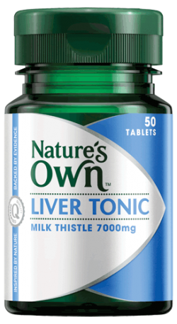 Liver Tonic & Milk Thistle 7000mg Tablets