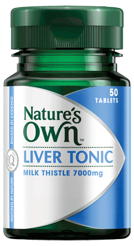 Liver Tonic, Milk Thistle 7000mg