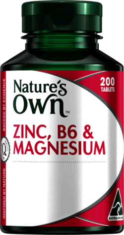 Nature's Own Zinc, B6 & Magnesium